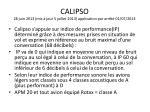 calipso 28 juin 2013 mis jour 5 juillet 2013 application par arr t 01 07 2013