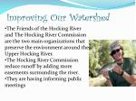 improving our watershed