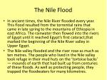 the nile flood