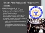 african americans and progressive reform2