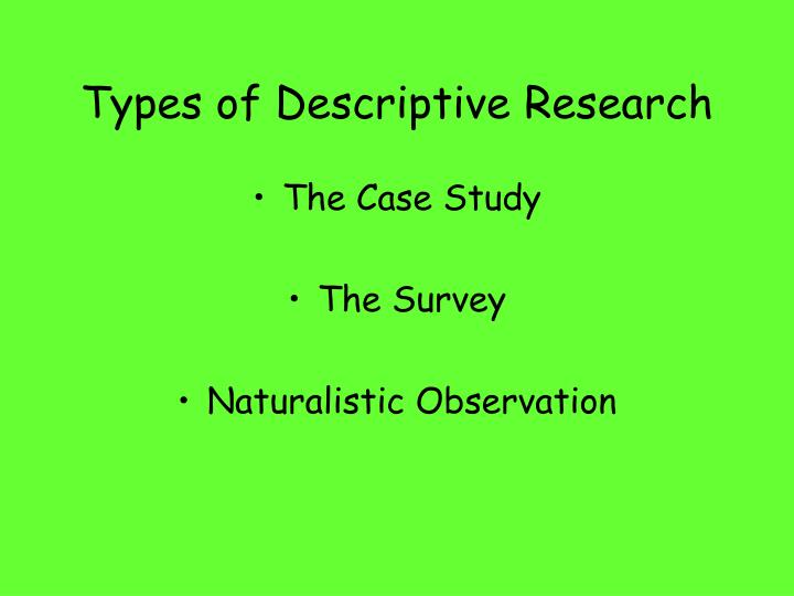 How Psychologists Do Research Deck Research Methods Used in Psych