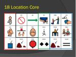 18 location core