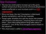 star evolution10