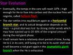 star evolution2