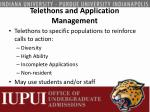 telethons and application management