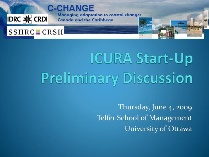 icura start up preliminary discussion n.