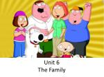 unit 6 the family