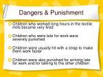 dangers punishment