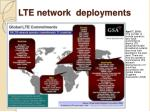 lte network deployments