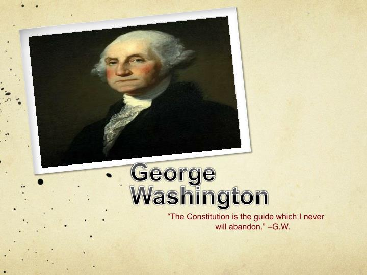 george washington n.