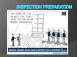 inspection preparation