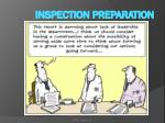inspection preparation5
