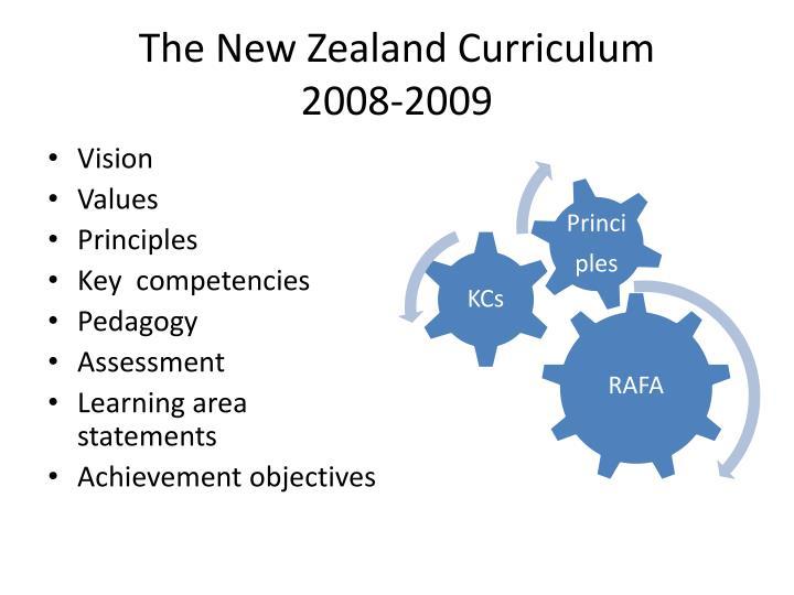 The New Zealand Curriculum