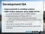 development qa