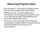 measuring property taxes