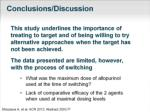 conclusions discussion