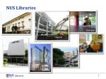 nus libraries