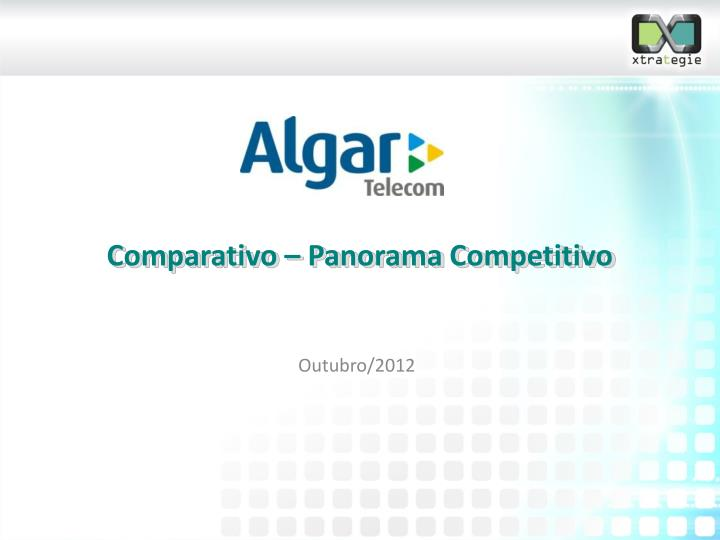 comparativo panorama competitivo n.