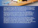 eagle block exemption juniors seniors
