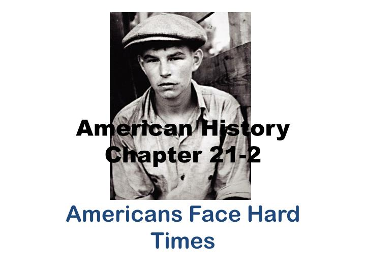 american history chapter 21 2 n.