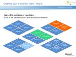 agree the members of your team four is the ideal structure here are some variations