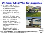 24 7 access dutch gp after hours cooperatives