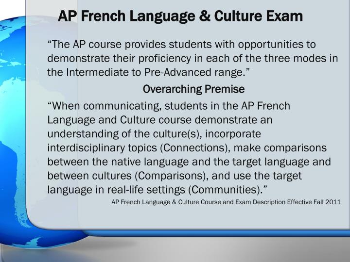 ap french essay terms Ap english: grammar review - chapter summary and learning objectives the english language has an abundance of specific grammar rules, and errors in your writing can result in a bad impression.