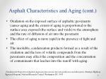 asphalt characteristics and aging cont1