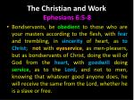 the christian and work3