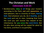 the christian and work4