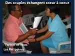 des couples changent coeur coeur