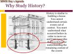 why study history