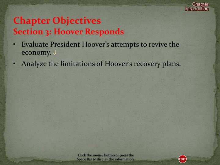 Chapter Objectives
