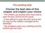 pre reading task10