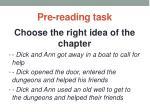 pre reading task12