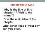 pre reading task3