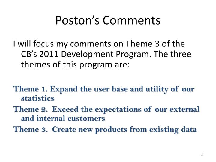 Poston s comments1