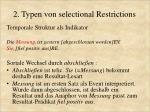 2 typen von selectional restrictions7