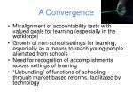 a convergence