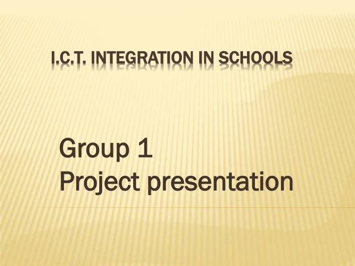 group 1 project presentation n.