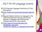 cilt 14 19 language events