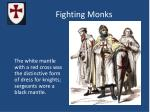 fighting monks