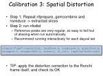 calibration 3 spatial distortion1