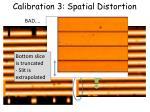 calibration 3 spatial distortion3
