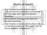 myths of saladin1