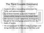 the third crusade germans1