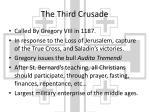 the third crusade