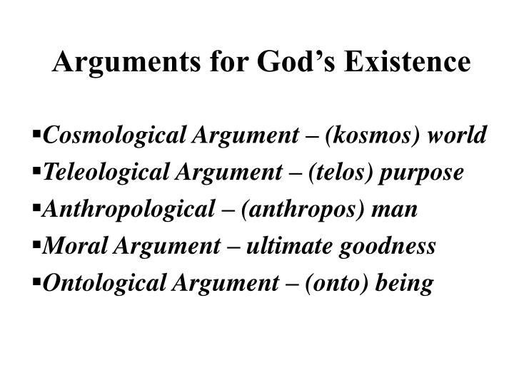 argument existence god ontological paper term Ontological argument - what is it this argument refers to the claim that the very logical possibility of god's existence entails his actuality anselm's reasoning was that, if a being existed only in the mind but not in reality, then a greater being was conceivable (a being which exists both in the mind.