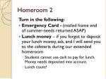 homeroom 2