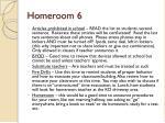 homeroom 6